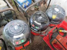 3 X HENRY 110VOLT VACUUMS. UNTESTED, CONDITION UNKNOWN.