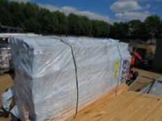 """LARGE PACK OF UNTREATED """"H"""" PROFILE FENCING TIMBERS, 70MM X 50MM X 1.80M LENGTH APPROX."""