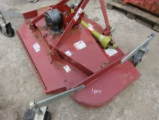 TRACTOR MOUNTED FINISHING MOWER, 6FT WIDE APPROX WITH PTO.