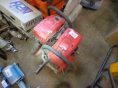 2 X SOLO CUT OFF SAWS, INCOMPLETE.