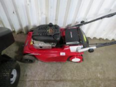 MOUNTFIELD ELECTRIC START ROLLER MOWER. WHEN TESTED WAS SEEN TO TURN OVER ON THE KEY BUT NOT STARTIN