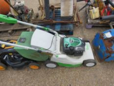 ETESIA VIKING MOWER WITH COLLECTOR. WHEN TESTED WAS SEEN TO RUN AND DRIVE.