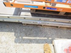 3 X YOUNGMAN TYPE STAGING BOARDS 10-14FT LENGTH APPROX.