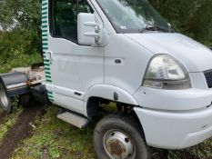 RENAULT MASCOTT 160DXI 4WD TRUCK WITH FIFTH WHEEL COUPLING,