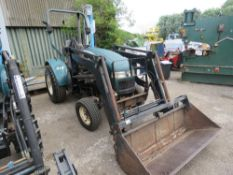SHIRE 330C 4WD ESTATE TRACTOR WITH FOREND LOADER AND 4 IN 1 BUCKETS. WHEN TESTED WAS SEEN TO START,