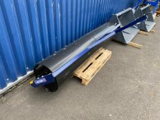 8FT WIDE AGRICULTURAL GRASS SPLIT ROLLER LITTLE USED, YEAR 2021.
