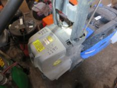 HEAVY DUTY PRESSURE WASHER, 240 VOLT WITH LANCE. UNTESTED, CONDITION UNKNOWN.
