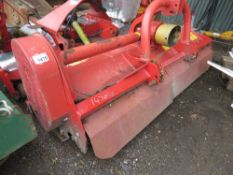 HUMUS A220 FRONT MOUNTED FLAIL MOWER, YEAR 2012, 2.2M WIDE. SOURCED FROM A LOCAL FARM HAVING CHANGED
