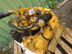 HYDRAULIC PUMP ASSEMBLY TAKEN FROM LIEBHERR 962 EXCAVATOR, WORKING WHEN RECENTLY REMOVED.