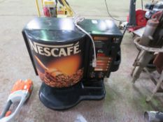 NESCAFE DRINKS DISPENSER, UNTESTED, CONDITION UNKNOWN.