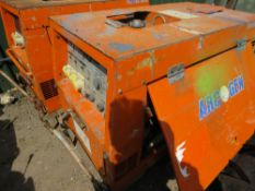 WELDMAKER 300SSD WELDER, KUBOTA ENGINE. WHEN TESTED WAS SEEN TO RUN AND SHOWED POWER ON GUAGE.