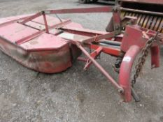 INTERNATIONAL T170 TWIN DRUM HAY MOWER. DIRECT FROM LOCAL HAY CONTRACTOR WHO IS RETIRING. LAST USED