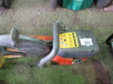 HUSQVARNA K760 PETROL CUT OFF SAW, APPEARS TO BE LATER TYPE MACHINE.