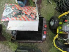 RADIATOR SET BELIEVED TO BE FOR FORDSON MAJOR TRACTOR.