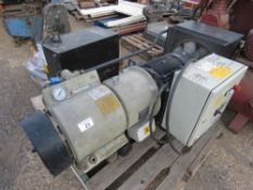 HYDROVANE 711 WORSHOP COMPRESSOR WITH DRIER UNIT, WORKING WHEN REMOVED FROM FACTORY. NO VAT ON HAMME