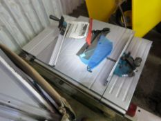 """MAKITA MLT100 10"""" CIRCULAR SAW BENCH. WAREHOUSE CLEARANCE ITEM, NOT FULLY INSPECTED, SOME PARTS MAY"""