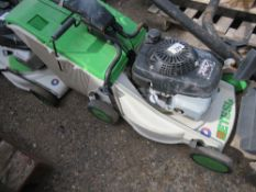 ETESIA MOWER WITH A COLLECTOR BOX. UNTESTED, CONDITION UNKNOWN.