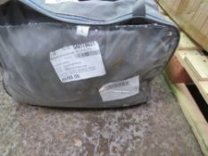 """CAR COVER IN CASE, 190"""" X 70"""" X 47"""", CONDITION UNKNOWN. NO VAT ON HAMMER PRICE."""