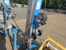 GENIE SLA10 MATERIAL HOIST UNIT WITH FORKS. YEAR 2012 BUILD. DIRECT FROM LOCAL COMPANY AS PART OF TH