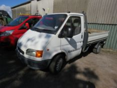 FORD TRANSIT DROPSIDE TRUCK REG:V962 GNO. TYPE 150D. WITH V5. MOT EXPIRED. WHNE TESTED WAS SEEN TO D
