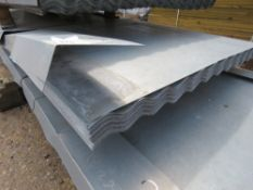 PACK OF 50NO 10FT CORRUGATED ROOFING SHEETS.