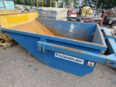 CONQUIP 2000LITRE RATED BOAT SKIP, 4 TONNE RATED, YEAR 2018.
