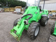 AVANT 750 PIVOT STEER TELESCOPIC LOADER, YEAR 2014. 1238 REC HOURS. SN:748481436. WHEN TESTED WAS SE
