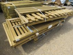 7 X ASSORTED GATES / SMALL FENCE PANELS.