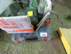 3 X BOXES OF ASSORTED ELECTRIC POWER TOOLS.