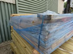 TREATED TIMBER FENCING POSTS 2.1-2.4M LENGTH APPROX.