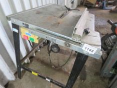 TABLE SAW, 110VOLT POWERED.