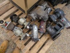 QUANTITY OF ASSORTED COMMERCIAL LORRY COMPRESSORS ETC