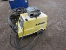 KARCHER HDS650 STEAM CLEANER, 240 VOLT. UNTESTED CONDITION UNKNOWN.