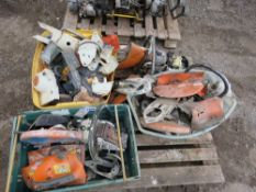 PALLET OF PETROL SAW SPARES, MAINLY STIHL.