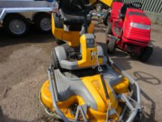 STIGA PARK PRO 21 4WD PETROL RIDE ON MOWER WITH COMBI PRO 125 OUTFRONT DECK. WHEN TESTED WAS SEEN T