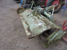 HOWARD 4FT WIDE SELECTATILTH TRACTOR MOUNTED ROTORVATOR. DIRECT FROM LOCAL HAY CONTRACTOR WHO IS RET