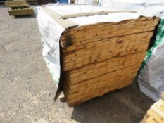 LARGE PACK OF UNTREATED SHIPLAP CLADDING TIMBER, 1.73M LENGTH X 9.5CM WIDTH APPROX.