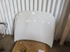 """BMW M2 F87 """"COMPETITION"""" TYPE CAR BONNET, WHITE. EX 2019 CAR HAVING REPLACED WITH A MODIFIED UNIT. A"""