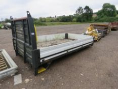 FORD TRANSIT TYPE DROP SIDE BODY 12FT LENGTH APPROX.