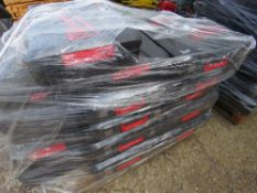 LARGE PALLET OF EMPTY MILWAUKEE POWER TOOL BOXES, APPEAR UNUSED.