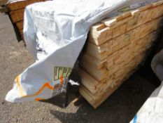 LARGE PACK OF UNTREATED CLADDING TIMBER BOARDS, 1.83M LENGTH X 70MM X 20MM APPROX.
