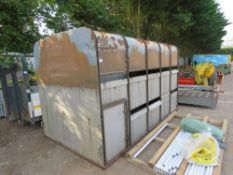 """IFOR WILLIAMS TYPE DEMOUNTABLE LIVESTOCK BODY, 12FT X 6FT6"""" APPROX. NO VAT ON HAMMER PRICE."""