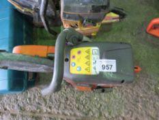 HUSQVARNA K760 PETROL CUT OFF SAW.
