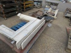 3 X PALLETS OF FIRE SURROUNDS AND CAST IRON FIRE SUNDRIES ETC. NO VAT ON HAMMER PRICE.