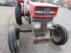 MASSEY FERGUSON 130 2WD TRACTOR . DIRECT FROM LOCAL HAY CONTRACTOR WHO IS RETIRING.