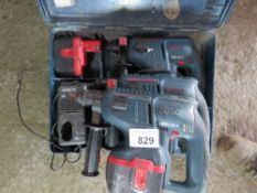 3 X BOSCH 24VOLT DRILLS. BEEN IN LONG TERM STORAGE, UNTESTED, CONDITION UNKNOWN.