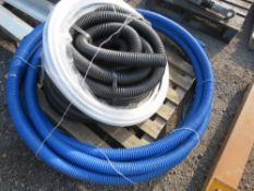 PALLET OF ASSORTED HOSES / PIPES. NO VAT ON HAMMER PRICE.