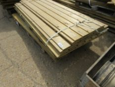 PALLET OF ASSORTED TIMBERS, MAINLY SHIPLAP, 1.7-1.8M APPROX.