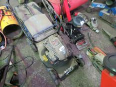MAC PETROL LAWNMOWER WITH COLLECTOR.