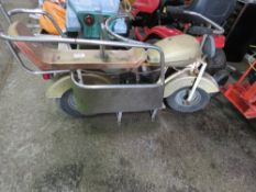OLD CHILD'S CAROUSEL RIDER MOTORBIKE, COLLECTOR'S ITEM? NO VAT ON HAMMER PRICE.